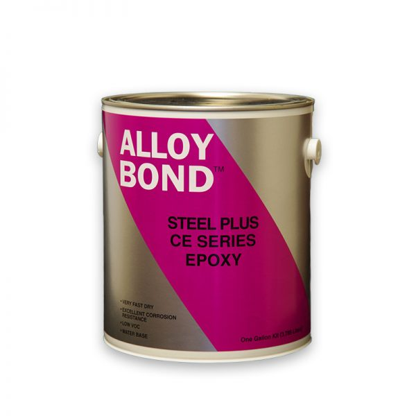 High Gloss Chemical Resistant Non Yellowing Novolac Based Epoxy White and Clear - Steel Plus CE