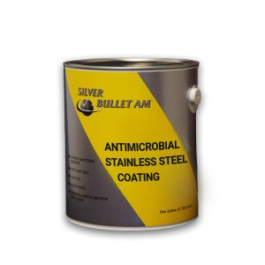 Stainless Steel Antimicrobial Epoxy Paint Resist 650 Strains of Bacteria